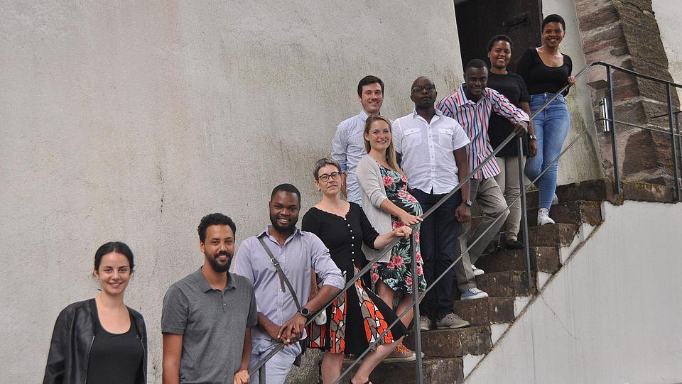 Gruppenfoto Teilnehmende Basel Summer School 2017