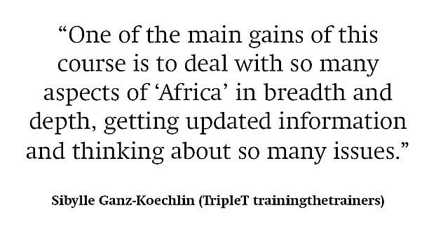 Referenz Sibylle Ganz-Koechlin TripleT Training the Trainers
