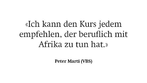 Referenz Peter Marti (VBS)