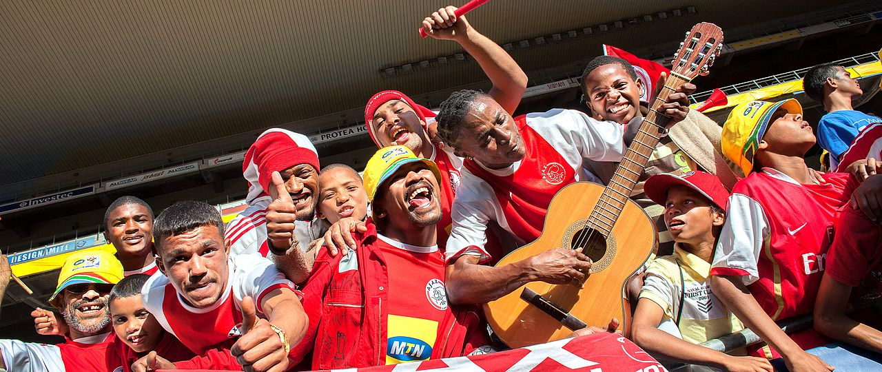 Football Fans von Ajax Cape Town