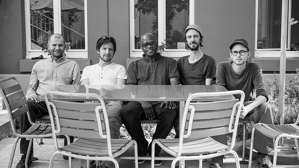 Feya Faku Quintet on the occasion of its last recording session at the Musikerwohnhaus Basel