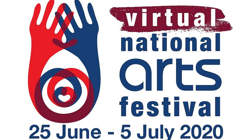 Logo of the Virtual National Arts Festival, Makhanda