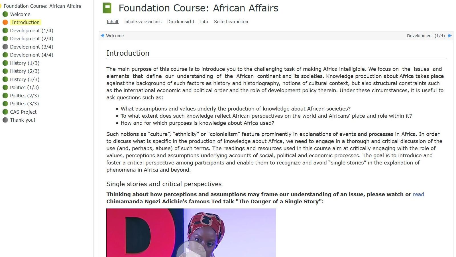 [Translate to English:] Snapshot: Foundation course
