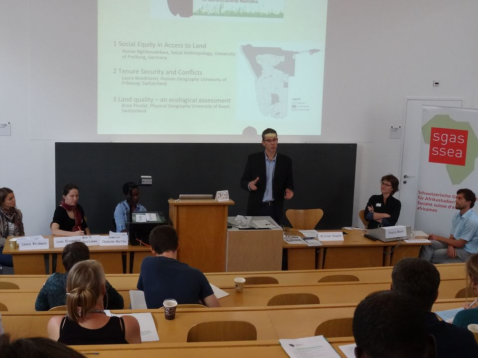Panel at the Swiss Researching Africa Days 2014