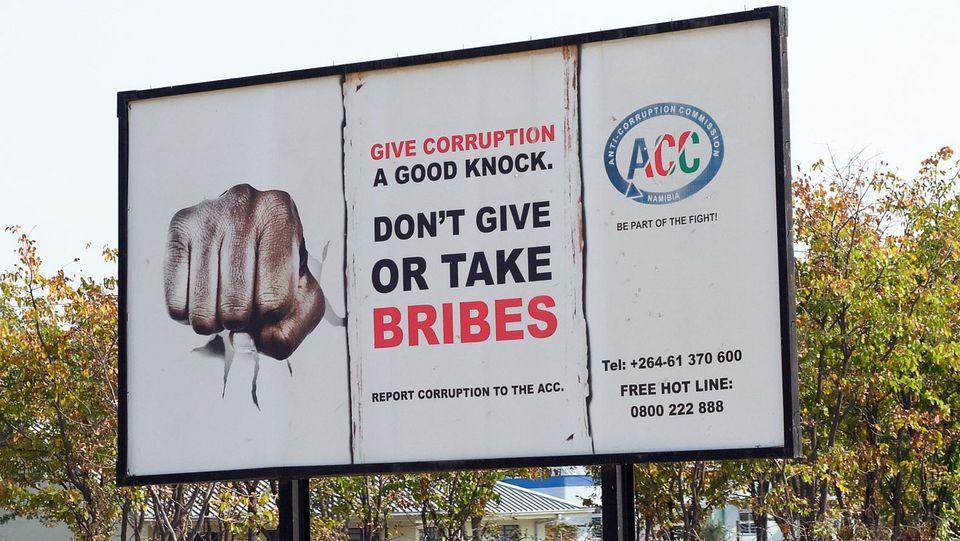 [Translate to English:] korruption