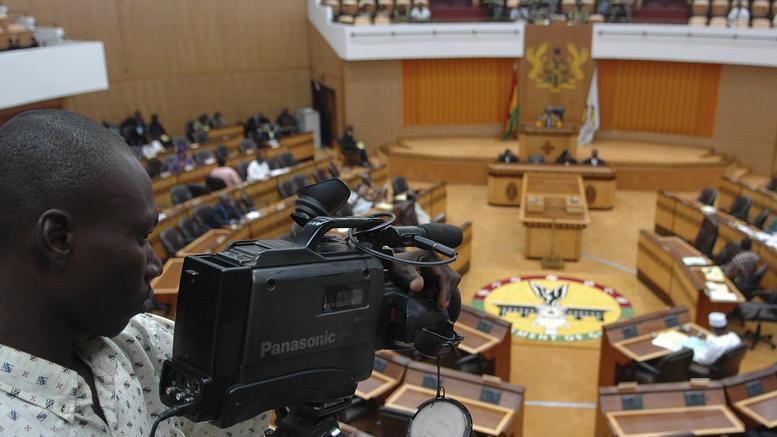 Parlamentssitzung in Accra, Ghana