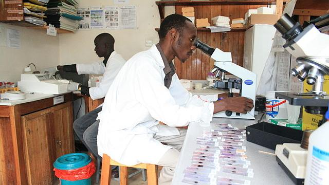 The Lab at Bwindi Community Hospital.JPG