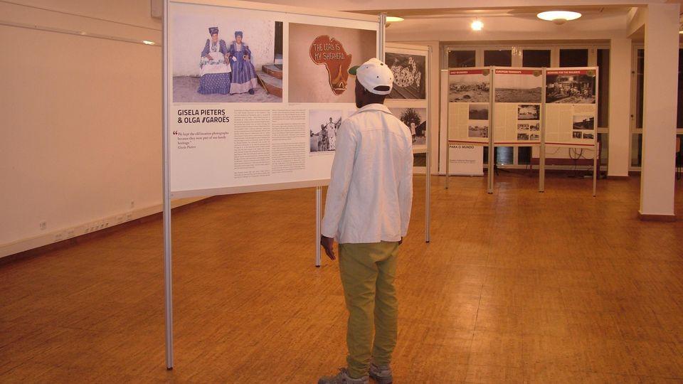 USAKOS Ausstellung in Maputo